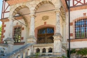 Eingang zur Villa Scheuermann Herrsching