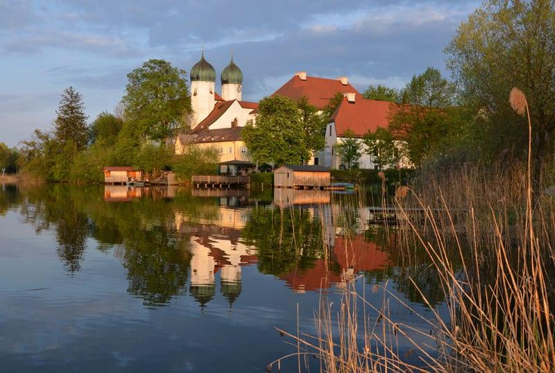 Kloster Seeon in autumn